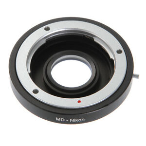 Minolta-MD-Lens-to-Nikon-Mount-Camera-Adapter-Ring-Optical-Glass-Focus-Infinity