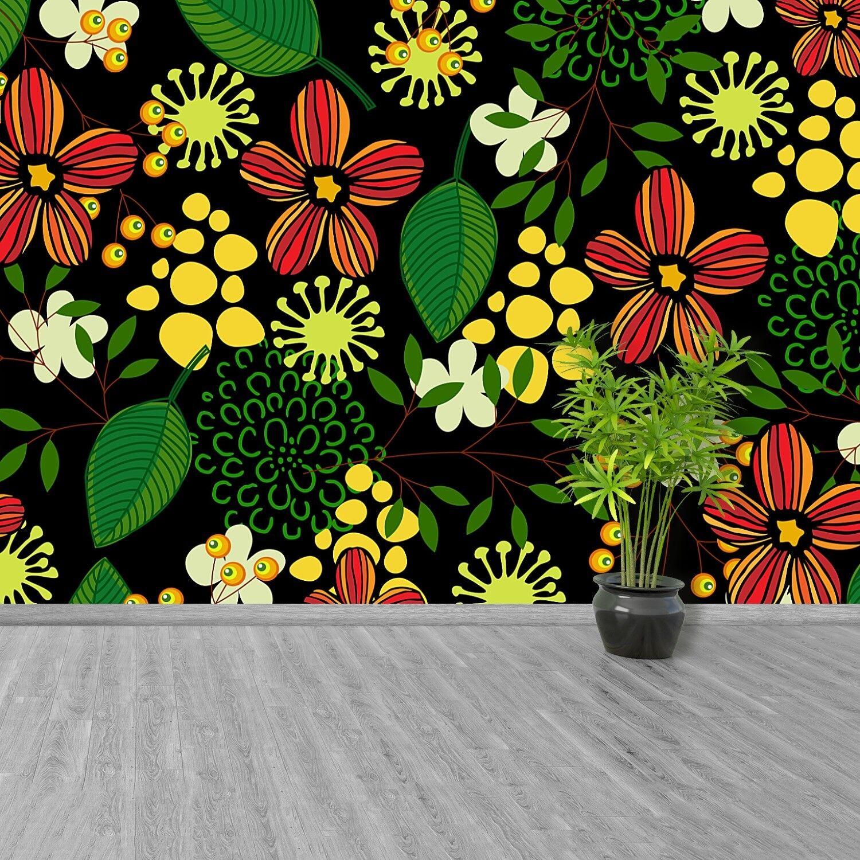 Fototapete Selbstklebend Einfach ablösbar Mehrfach klebbar Blumen
