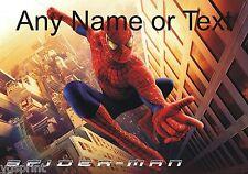 Personalizado Spiderman Computadora Mouse Mat 250mm X 190 Mm 6 Mm De Espesor Mat
