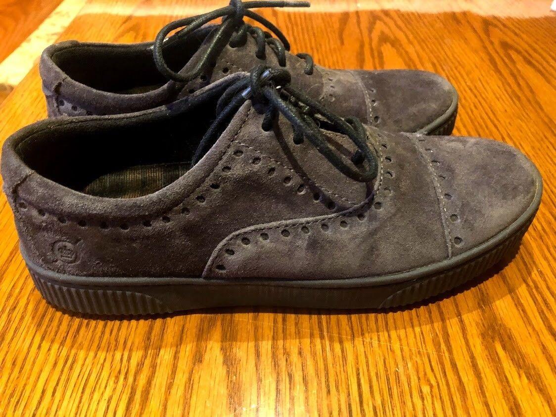 Platillo nacido' ' gris gris gris Gamuza Zapato Zapatillas Tamaño 6.5  comprar marca