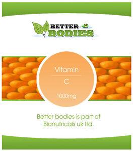 La-vitamina-C-1000mg-CON-ROSA-CANINA-amp-bioflavonoidi-compresse-Regno-Unito-fidato-Brand