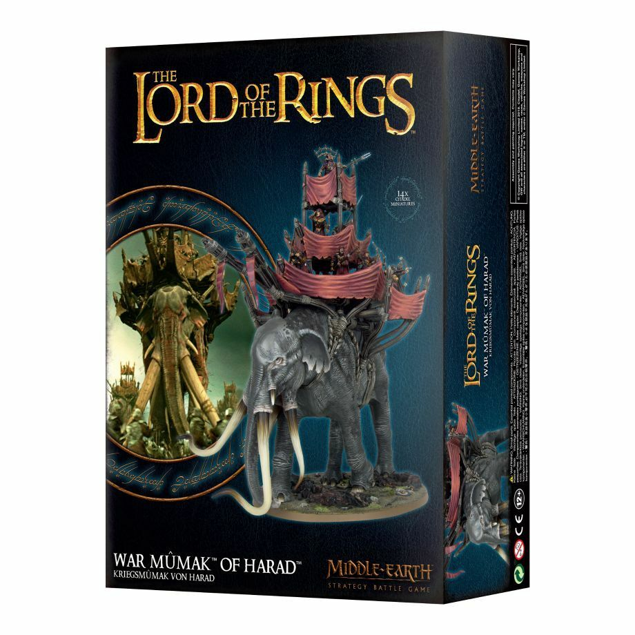Lord of the Rings Kriegsmumak of Harad Games Workshop Lotr Hobbit Haradrim Mumak