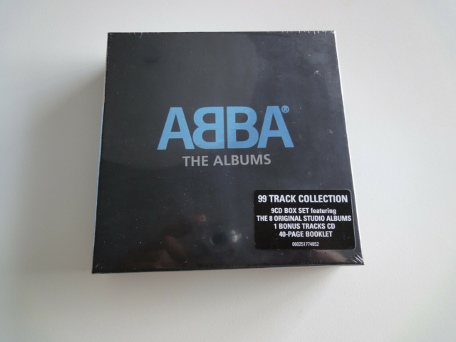 Abba: The Albums, pop, 9cd box set + 1 bonus tracks cd..…