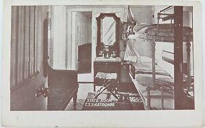RARE-EARLY-1900-S-POSTCARD-OF-THE-T-S-S-KATOOMBA-STATE-ROOM