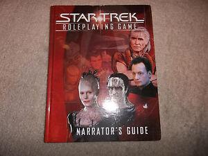 star trek rpg decipher narrator s guide ebay rh ebay com FASA Star Trek Maps Star Trek Role-Playing Game Character Sheet