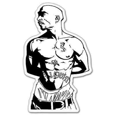 Tupac Shakur rap Vynil Car Sticker Decal - Select Size