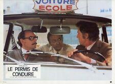 LOUIS VELLE MAURICE BIRAUD LE PERMIS DE CONDUIRE 1974 PHOTO D'EXPLOITATION #8