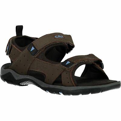 Cmp Scarponcini Almaak Hiking Sandal Marrone Tinta Nubuckleder-mostra Il Titolo Originale Elegante Nello Stile