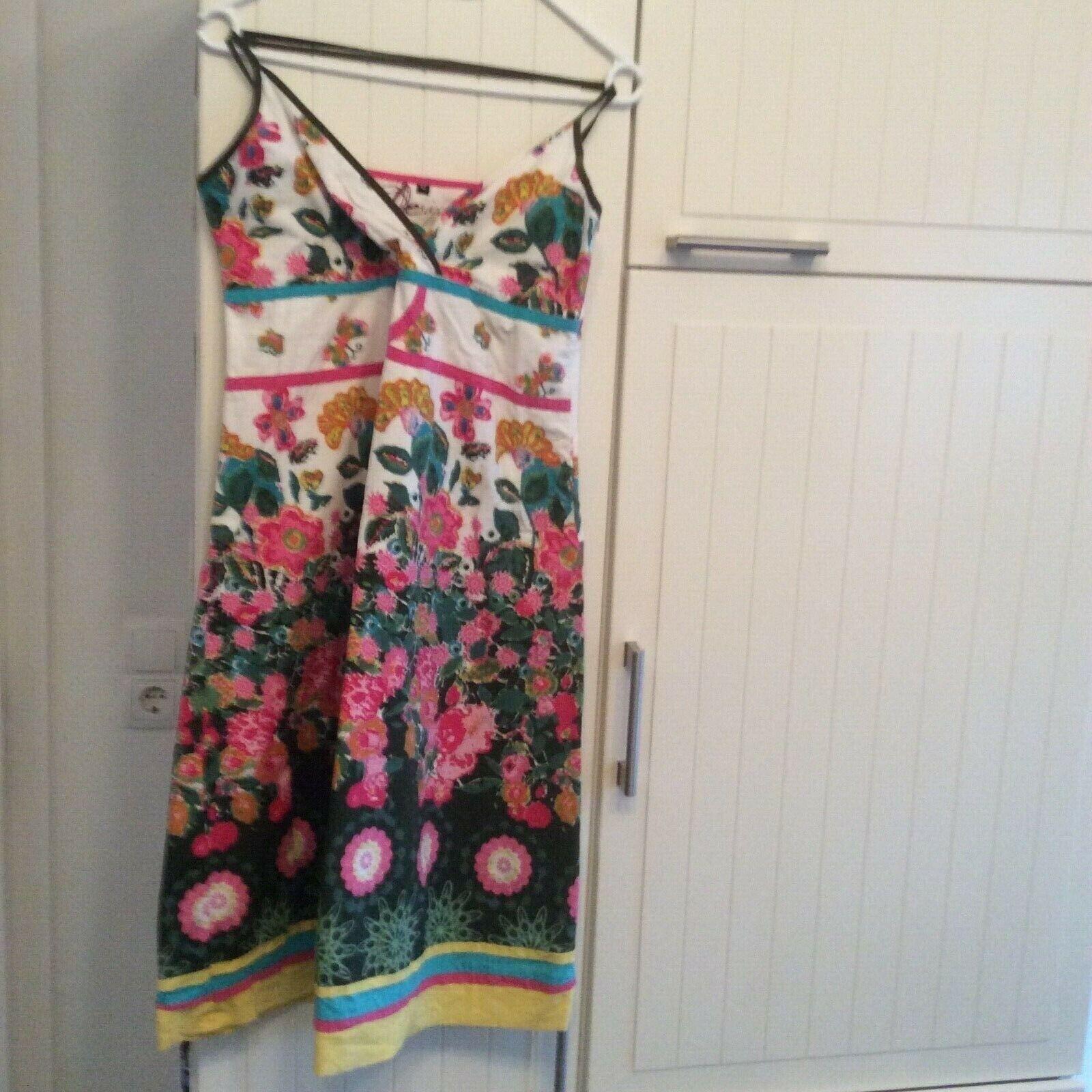 Farbenfrohes Kleid Desigual Gr. 42