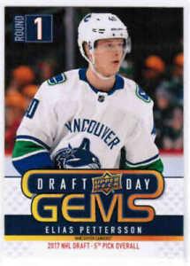 Details about 2018-19 18-19 Upper Deck UD NHL Draft Day Gems GEM00 - GEM12  Pick From List