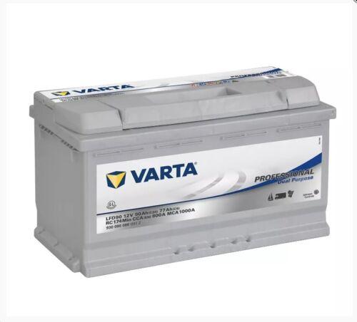 LFD90 Varta Leisure Battery 12V 90AH Battery