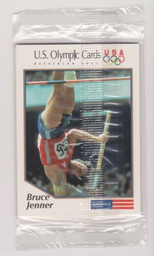 1991 IMPEL OLYMPIC BRUCE JENNER DECATHLON GOLD 5 CARD SET ~ FACTORY SEALED ~ QTY