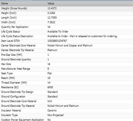 Details about  /6 Bosch Double Platinum Spark Plugs For 2004-2006 KIA AMANTI V6-3.5L