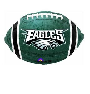 Details About Philadelphia Eagles Football 18 Balloon Birthday Party Decorations