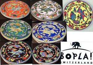 HUNTING-BOPLA-Porzellan-27cm-grosser-Essteller-Fleischteller-large-Plate