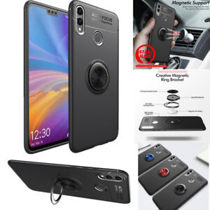 Details about For Huawei Honor 8X /8X Max Soft TPU Case Ring Holder  Kickstand Protective Cover