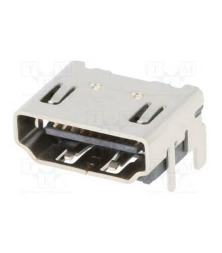 HDMI Connettore Presa Socket PCB Femmina ricambio da saldare
