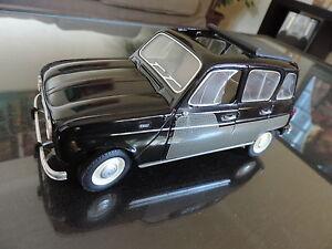 Renault 4 R4 4l Solido 1/18 Parisienne