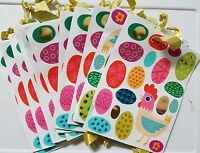 Lot Of 12 Spritz Easter Egg Gift Party Favor Bag W/ Chick