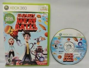 Cloudy-w-Chance-of-Meatballs-Microsoft-Xbox-360-Complete-Game-Tested-Works