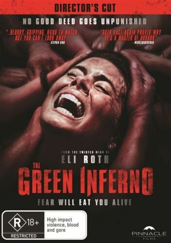 1 of 1 - The Green Inferno (Dvd) Eli Roth Action, Adventure, Horror