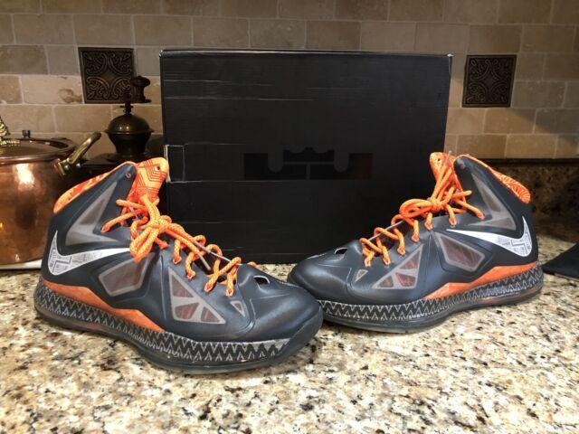 big sale 3930a 6f35d Nike Lebron James 10 X Black History BHM Men's Basketball Shoes 14 I Promise