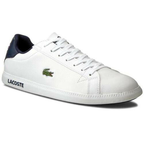 comme Lacoste Homme Graduate LCR3 Cuir Sport 7-31spm0096x96 B-grade
