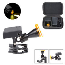 Dental 5w Led Wireless Head Light With Optical Filter For Binocular Loupes Glasses