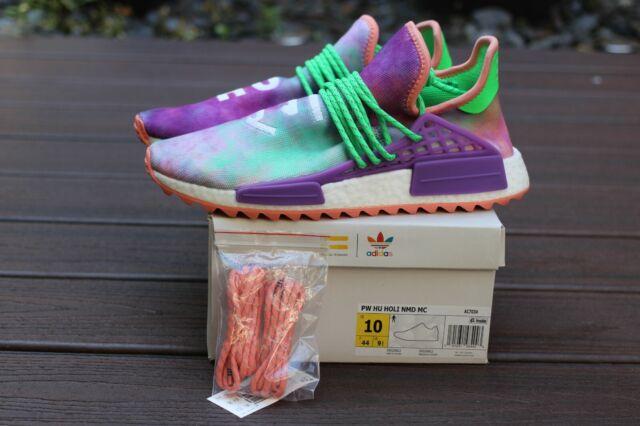 hot sale online 7723d 7d669 Adidas Human Race NMD Pharrell Holi Festival (Chalk Coral) AC7034 Size 10  Green