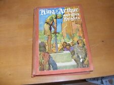 King Arthur and his Knights, Compiled by Elizabeth L. Merchant,(1927), 1st ed
