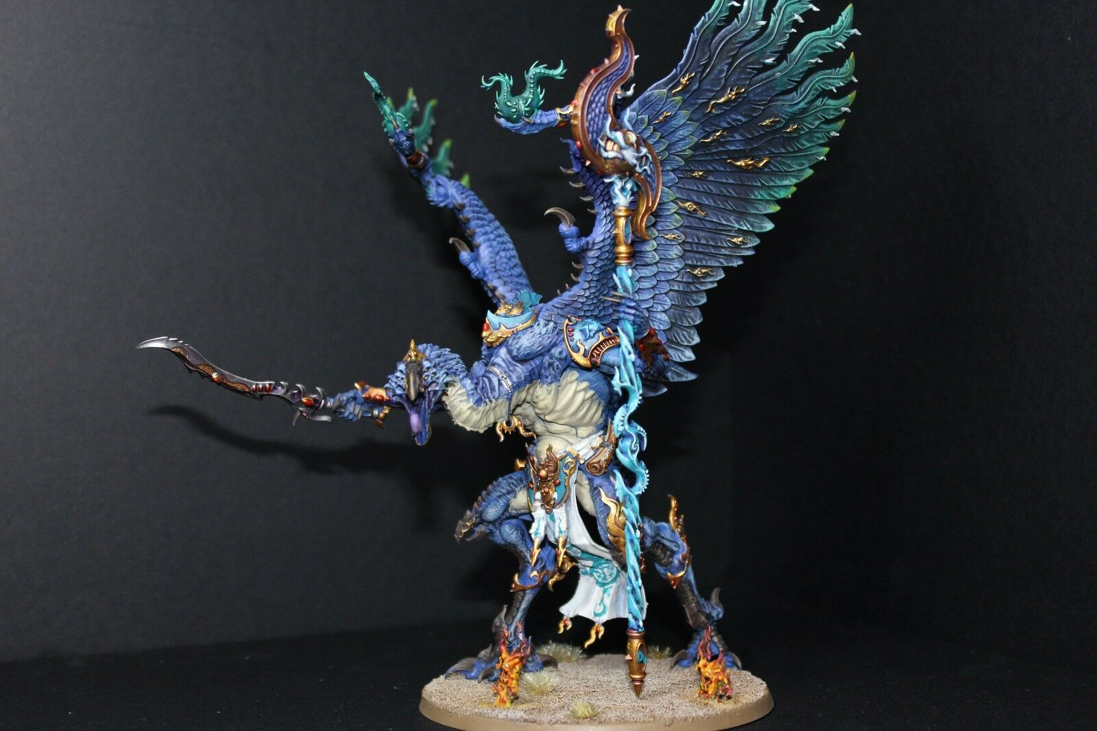 Warhammer 40k & AoS pro painted Lord of change greater demon  made to order