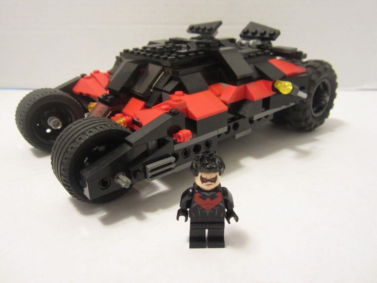 Lego Batman -  Nightwing vaso  y Nightwing Minifig de