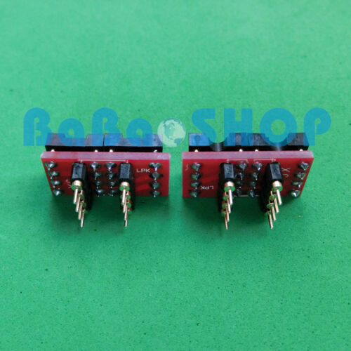 10pc DIP to DIP Dual to Mono Opamp PCB Adapter OPA627BP AD797AN OPA604AP AD847AQ