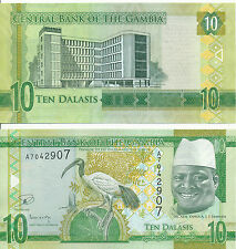 Gambia - 10 Dalasis (2015) UNC - Pick New