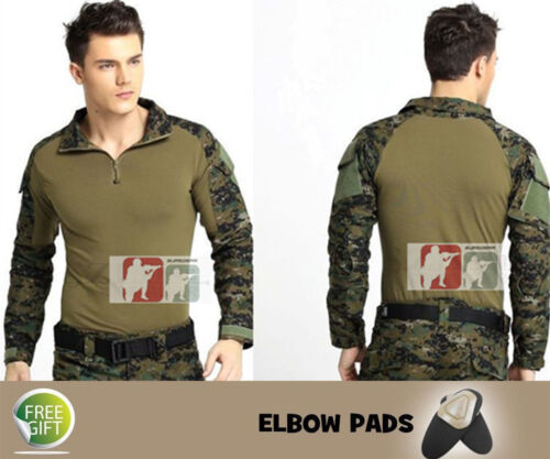Tactical Military .Custom Army G3 Gen3 Combat Shirt Uniform*Airsoft Frog BDU*Men