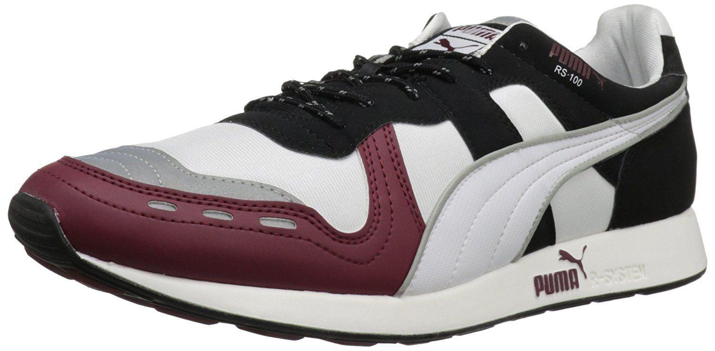 Puma Hombre Rs 100 / AW Fashion sneaker, Blanco / 100 Cabernet / negro el mas popular de zapatos para hombres y mujeres 712214