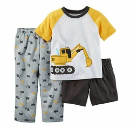 NWT $26 Carter/'s Infant Boy Pajama Sets Genius Count Down Spaceships Size 12 Mo