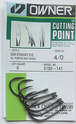 OWNER 5180 All Purpose Bait Hook Fly Tying