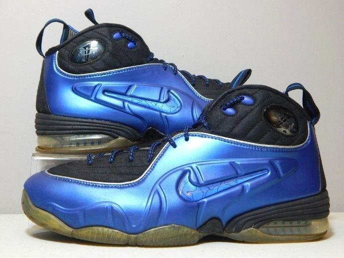 Nike shoes - 2009 Penny 1 2 Half Cent Royal blueee - Foamposite - Size 9.5
