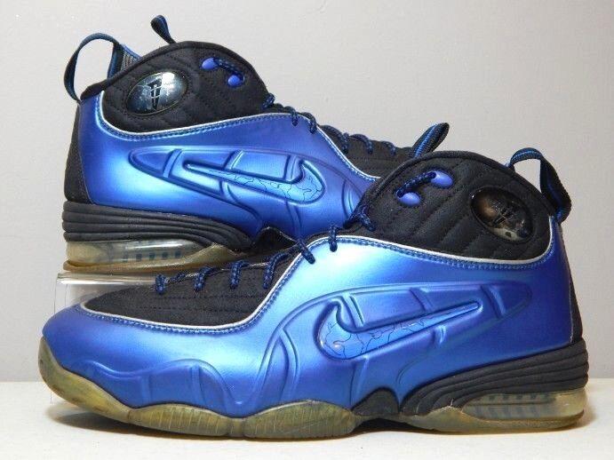 Nike - schuhe - 2009 - 1 / 2 halbcent - royal - blau - foamposite - größe 9,5
