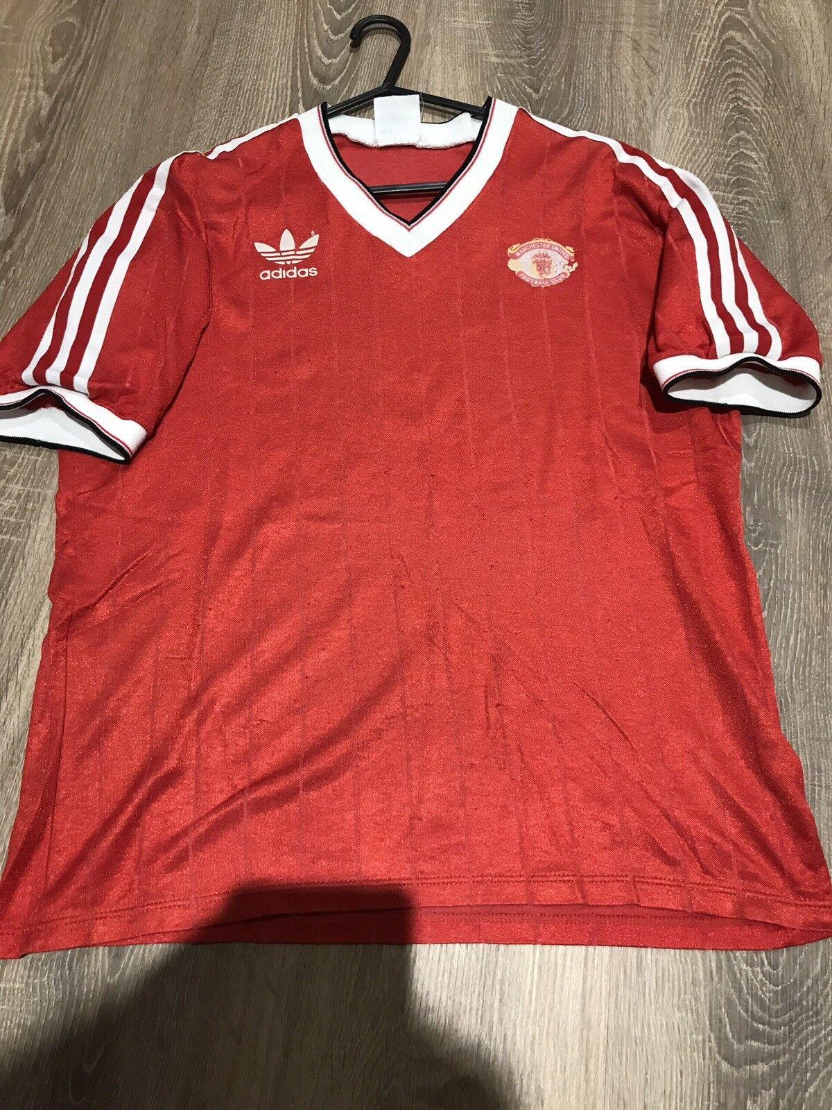 Manchester United Originale Vintage 198384 maglietta adulti L