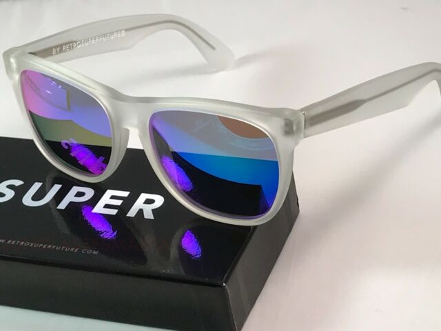 Sunglasses 168 Retrosuperfuture Classic Frame Crystal Matte Super Nib Flash 35j4RLqAc