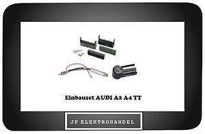 Einbauset-Einbaurahmen-Antennenadapter-fuer-AUDI-A2-A4-TT-Radioblende-R340