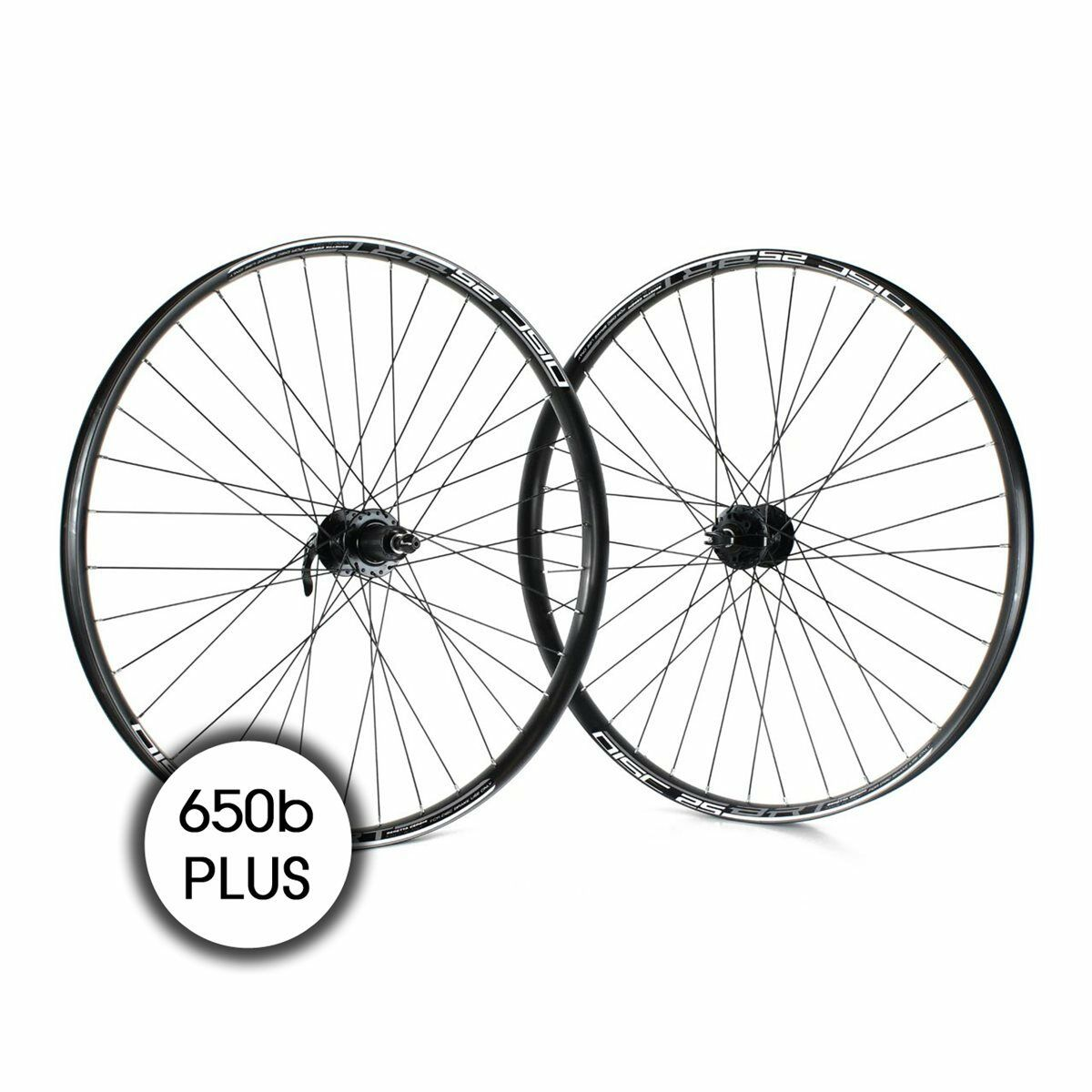 Coppia ruote mtb 27,5+ disco 8-10v qr black RIDEWILL BIKE  ruote bici  low price