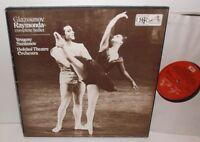 SLS 826 Glazounov Raymonda Complete Ballet Bolshoi Theatre Svetlanov 3LP Box Set