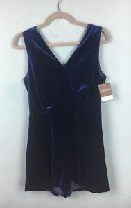 maniche scuro pizzo Playsuit B55 Party velluto in Blu ciglia V Topshop con 10 Back in senza 5qZFwW07