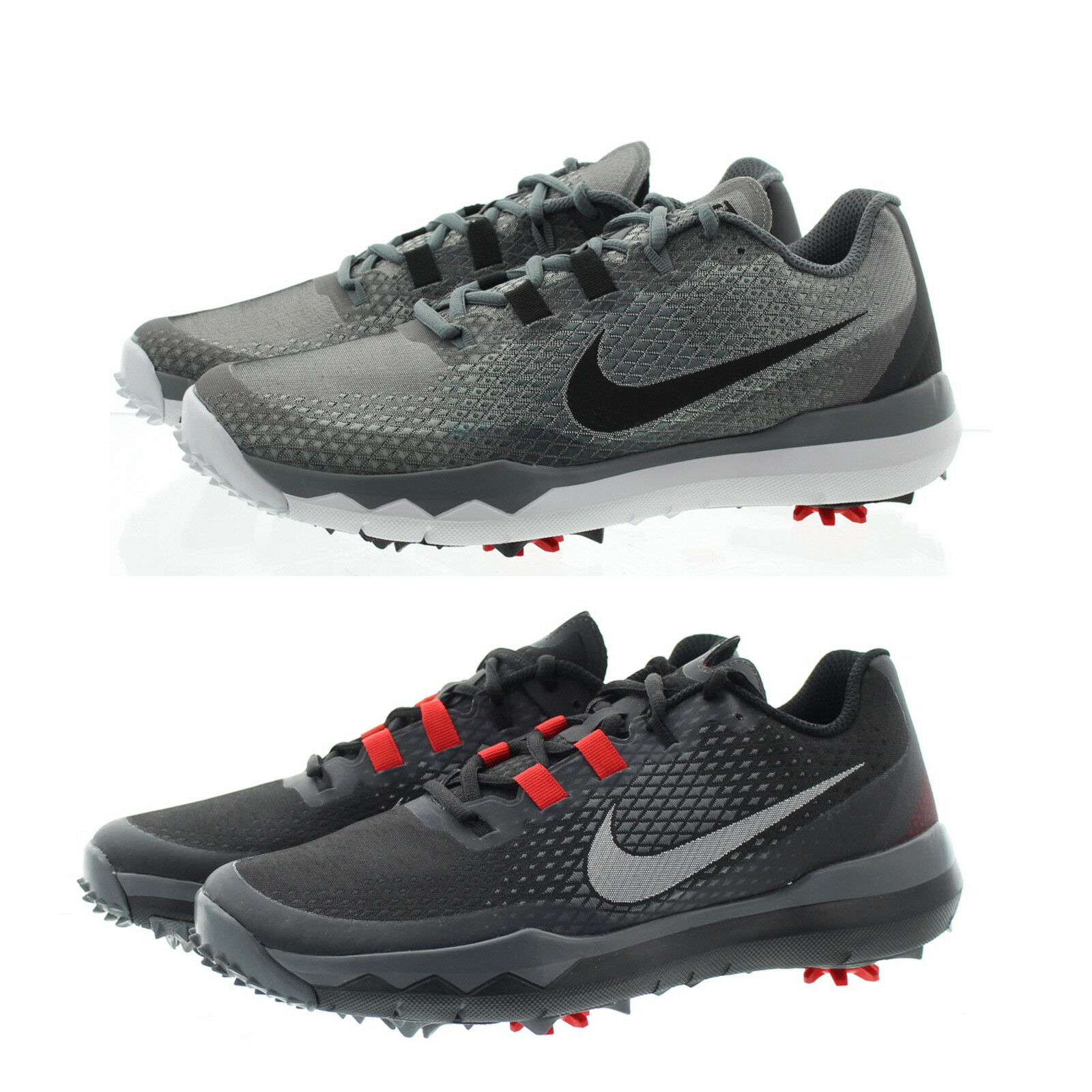 Nike TW 2015  15 Tiger Woods Men s Golf Shoes Black - Pick Size 7 Medium  for sale online  0ea5c35537f4