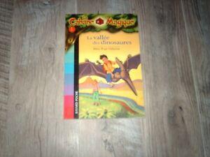 LA CABANE MAGIQUE...N°1...la vallée des dinosaures...éd bayard 2005