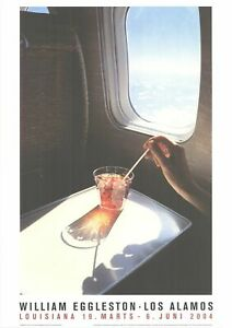WILLIAM EGGLESTON Drink 23.5 x 16.5 Offset Lithograph 2018 Realism