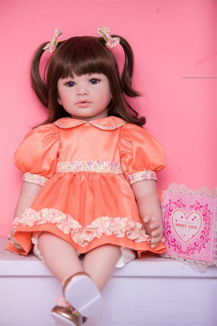22  RINATO Baby doll ragazza bambino realistica vinile morbido silicone bambino regalo fatto a mano